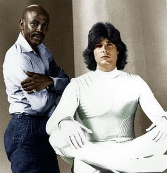 The Powers of Matthew Star - Louis Gossett Jr. and Peter Barton