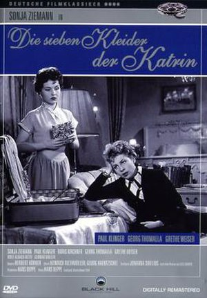 The Seven Dresses of Katrin - DVD Cover