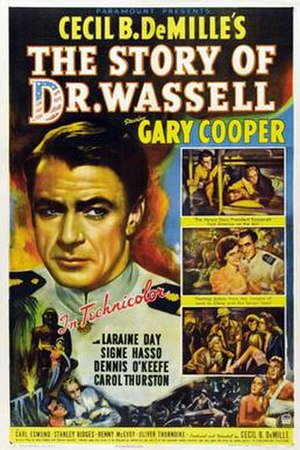 The Story of Dr. Wassell - Theatrical release poster