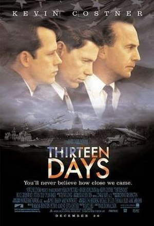 Thirteen Days (film) - Image: Thirteen days poster