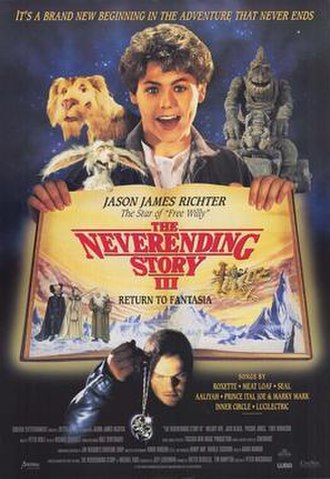The NeverEnding Story III - Canadian video release poster
