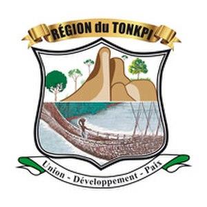 Tonkpi - Image: Tonkpi Region (Ivory Coast) logo