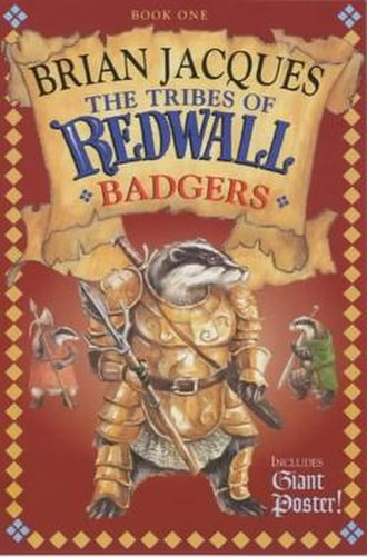 Tribes of Redwall Badgers - First UK Edition Cover