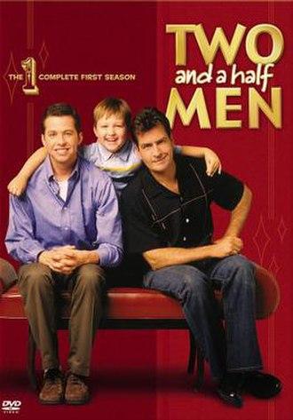 Two and a Half Men (season 1) - DVD cover art
