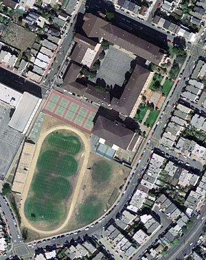 Balboa High School (California) - Image: Usgs balboahs