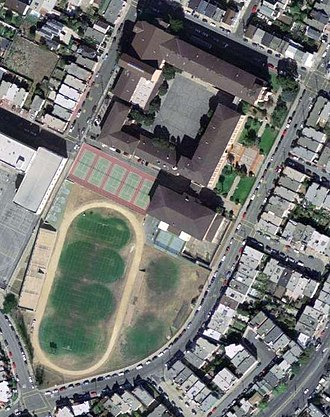 Balboa High School (California) - The Balboa High School campus