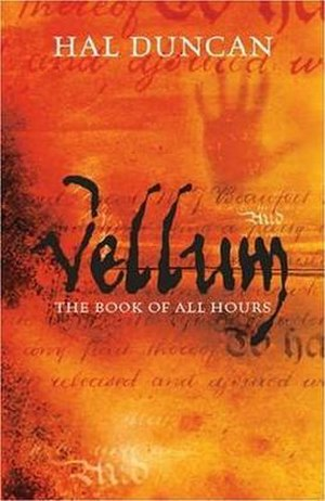 Vellum (novel) - Vellum first edition cover.