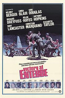 <i>Victory at Entebbe</i> 1976 television film directed by Marvin J. Chomsky