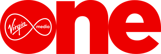 Virgin Media One's logo
