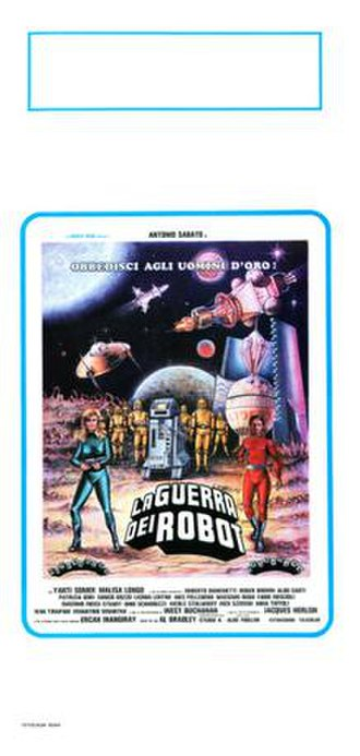 War of the Robots (film) - Image: War of the Robots poster