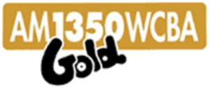 "WCBA (AM) - WCBA ""1350 Gold"" logo"