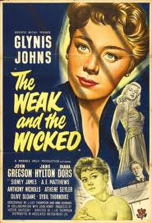 The Weak and the Wicked - UK release poster