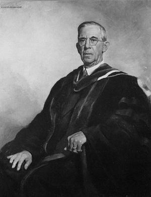 Joseph S. Kozlowski - Portrait of Dean H.G. Weiscotten by Joseph S. Kozlowski, 1946. Syracuse University Medical School collection.