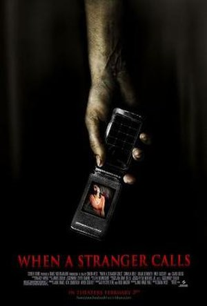When a Stranger Calls (2006 film) - Theatrical release poster