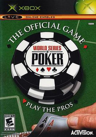 World Series of Poker (video game) - North American Xbox cover art