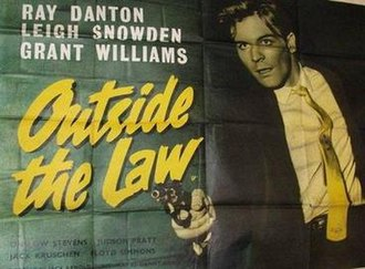 """Outside the Law (1956 film) - Image: """"Outside the Law"""" (1956)"""