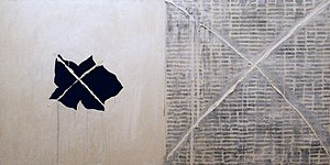Pat Steir - Pat Steir, Nothing, oil on canvas, 1974, Honolulu Museum of Art