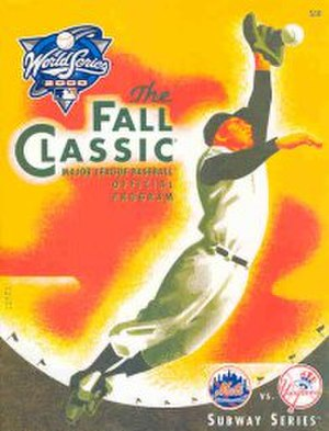 2000 World Series - Image: 2000 World Series program