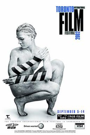 Hollywood North - Official poster of the 2002 Toronto International Film Festival