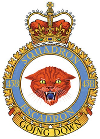438 Tactical Helicopter Squadron - 438 Squadron badge