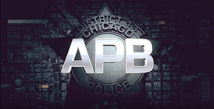 APB (TV series) - Image: APB Title Card