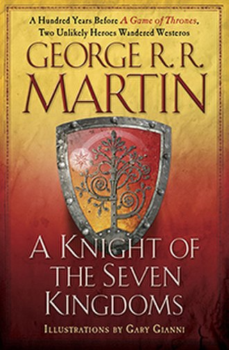 Tales of Dunk and Egg - US edition front cover for the combined novellas: A Knight of the Seven Kingdoms