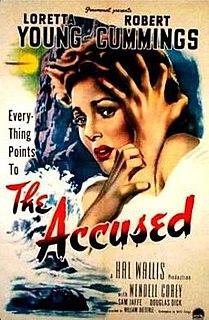 <i>The Accused</i> (1949 film) 1949 film by William Dieterle