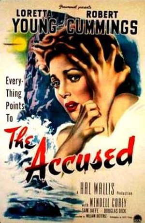 The Accused (1949 film) - Theatrical release poster