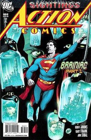 Brainiac (story arc) - Image: Action 866
