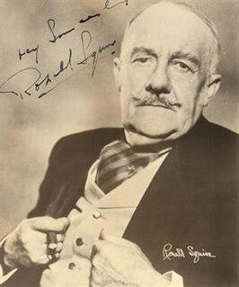 Ronald Squire British actor