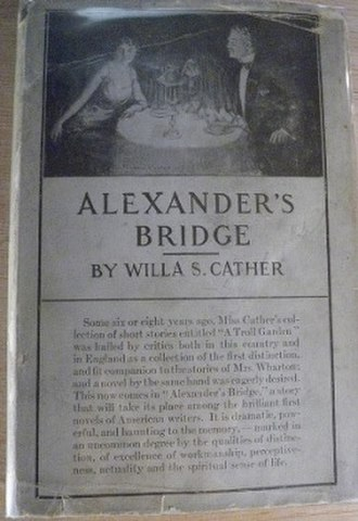 Alexander's Bridge - First edition