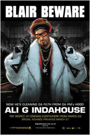 Ali G Indahouse - Theatrical release poster
