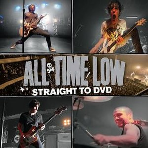 Straight to DVD (album) - Image: All Time Low Straight To DVD