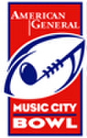 1998 Music City Bowl - Image: American General Music City Bowl