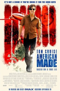 <i>American Made</i> (film) 2017 American action comedy film by Doug Liman