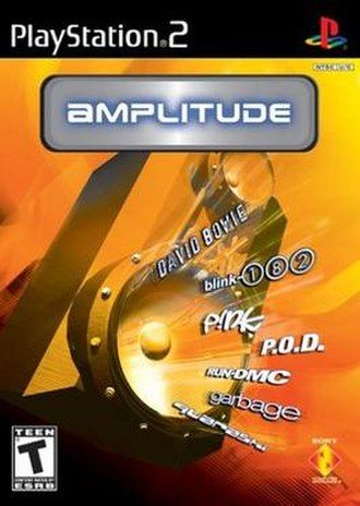 Amplitude (video game) - Image: Amplitudebox