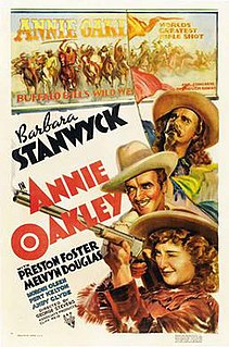 <i>Annie Oakley</i> (1935 film) 1935 American biographical film directed by George Stevens