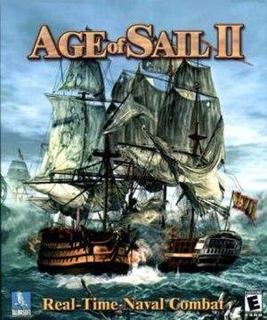 Age of Sail II - Image: Ao S II box art
