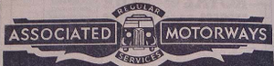 Associated Motorways - An older logo dating from 1949