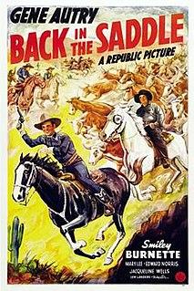 <i>Back in the Saddle</i> (film) 1941 film by Lew Landers