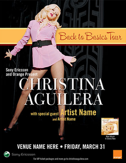 Back to Basics Tour concert tour by Christina Aguilera