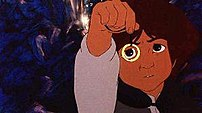 Frodo from the 1978 animated film adaptation o...