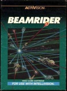 <i>Beamrider</i> 1983 video game