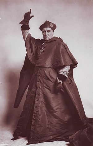 Will Barker - Beerbohm Tree as Cardinal Wolsey