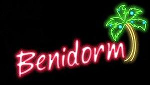 Benidorm (TV series) - Image: Benidorm titlecard