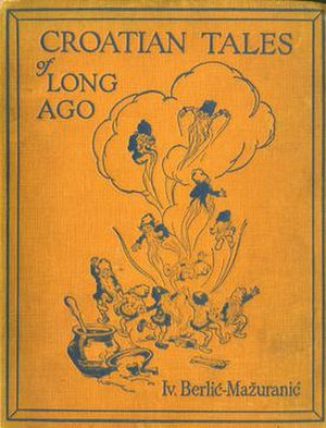 Croatian Tales of Long Ago - Cover of the 1924 London edition