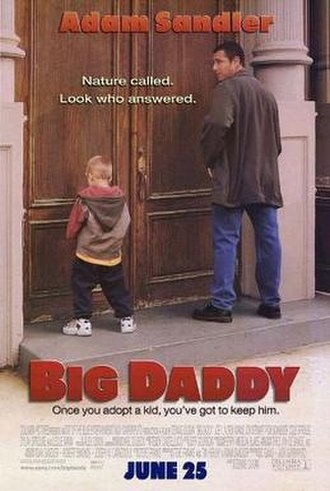 Big Daddy (1999 film) - Theatrical release poster