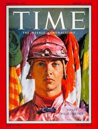 Bill Hartack - Hartack on the cover of Time