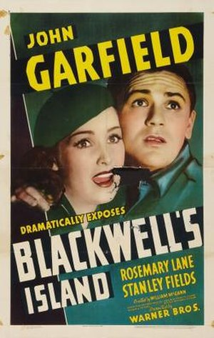 Blackwell's Island (film) - Theatrical release poster