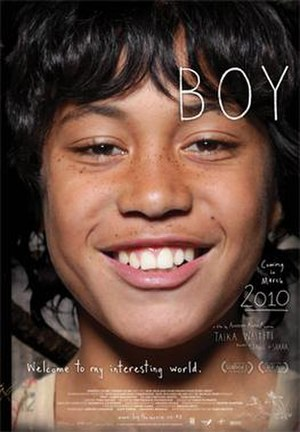 Boy (2010 film) - New Zealand theatrical release poster